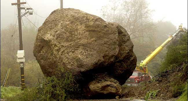 boulder-on-road