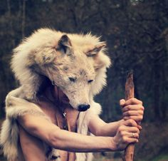 wolf-headdress